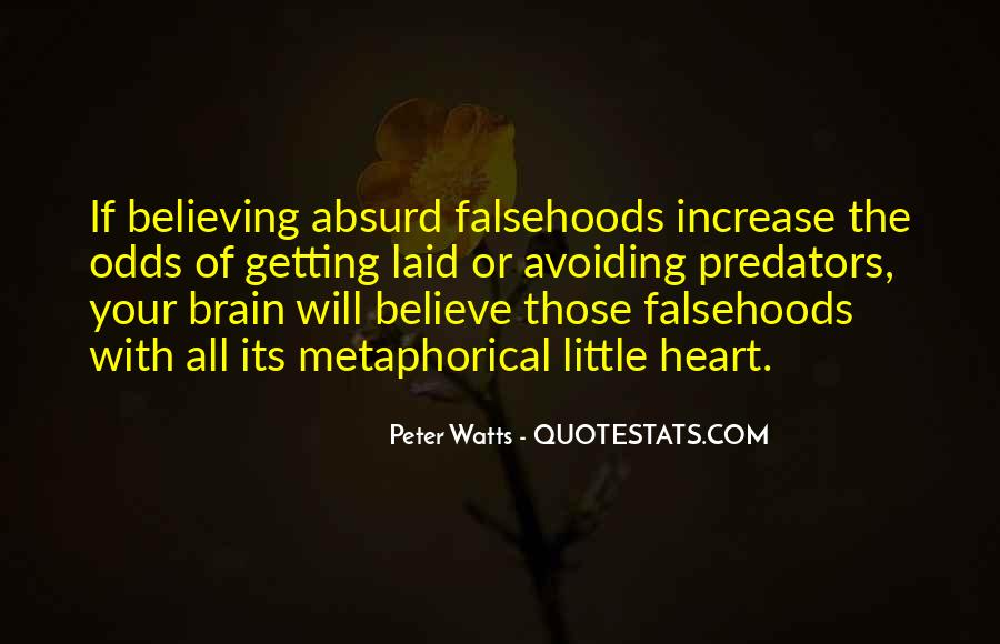 Quotes About Heart Over Brain #106739