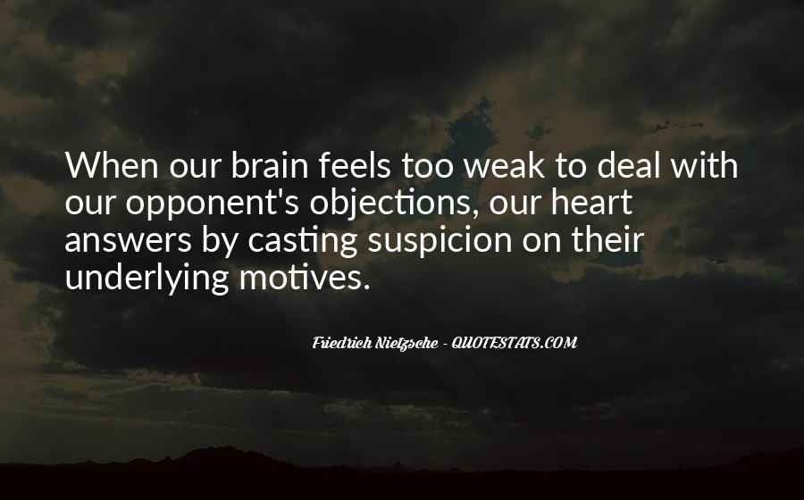 Quotes About Heart Over Brain #124548