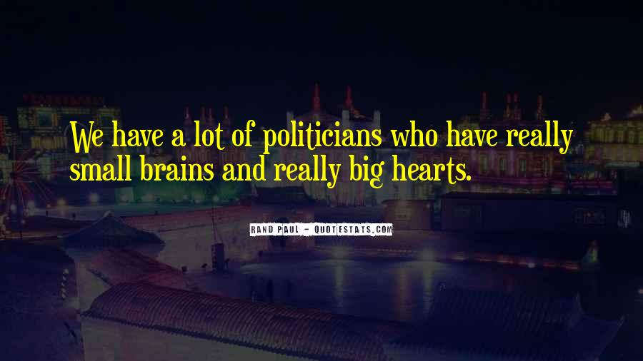 Quotes About Heart Over Brain #128973
