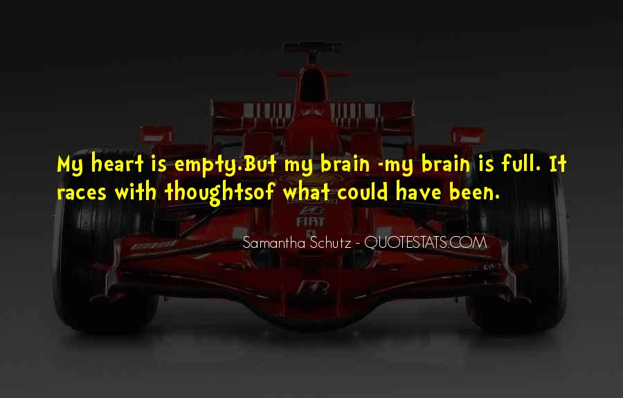 Quotes About Heart Over Brain #130511
