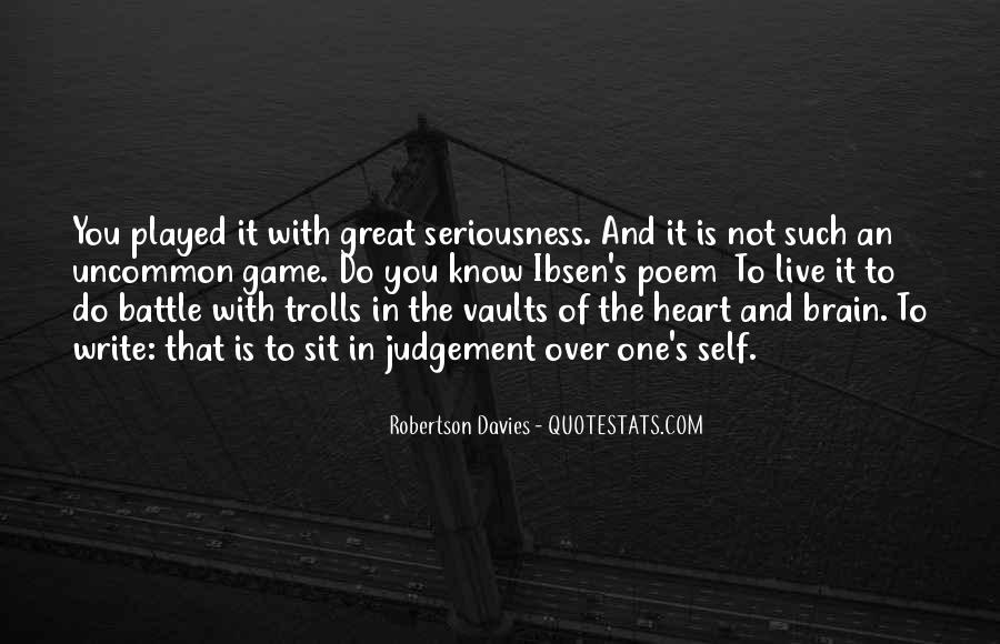 Quotes About Heart Over Brain #1654424