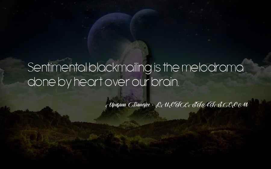 Quotes About Heart Over Brain #285616