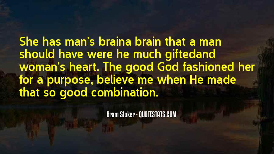Quotes About Heart Over Brain #51743
