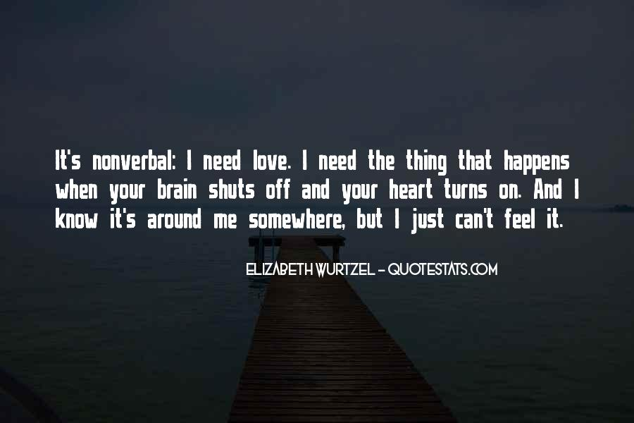 Quotes About Heart Over Brain #84292
