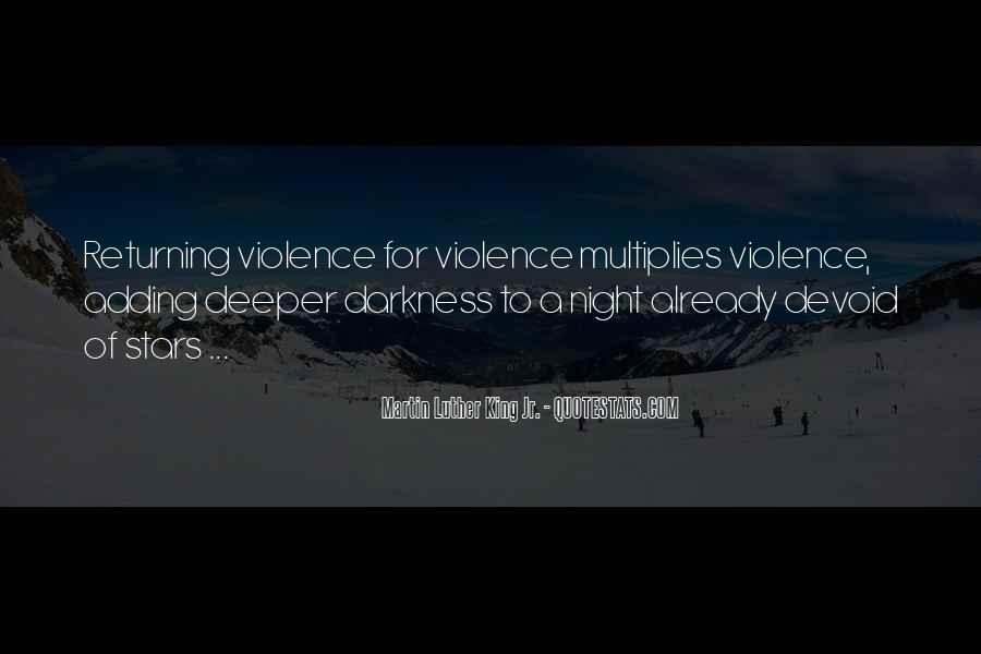 Quotes About Violence In Night #1106046