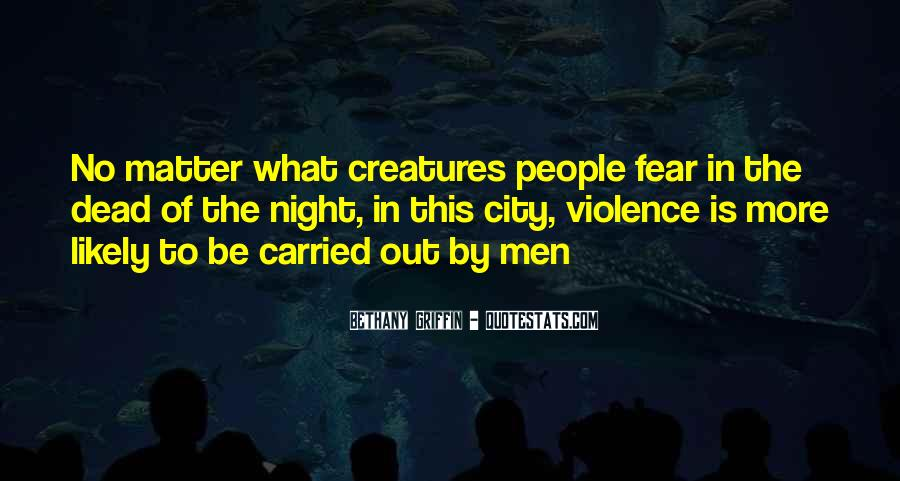 Quotes About Violence In Night #1618479
