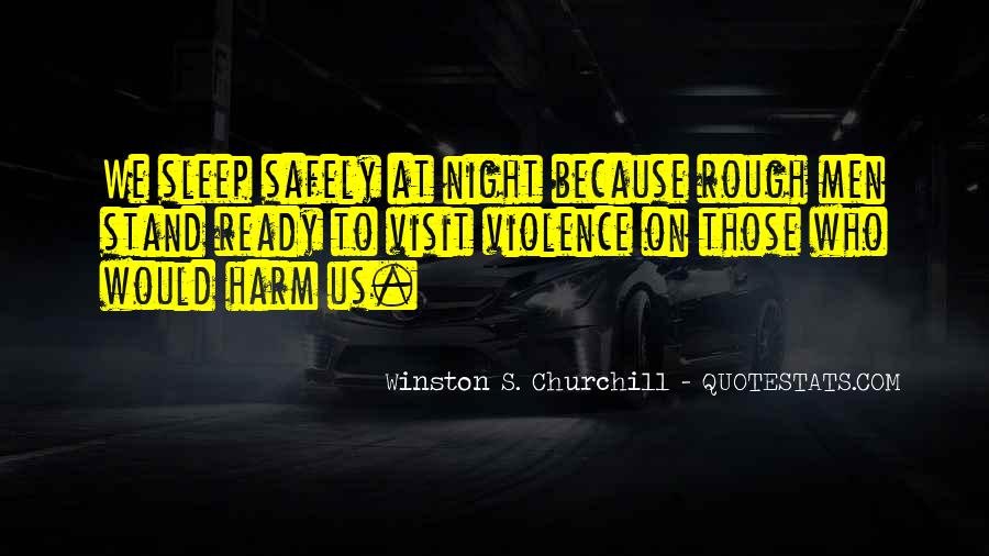 Quotes About Violence In Night #1636913