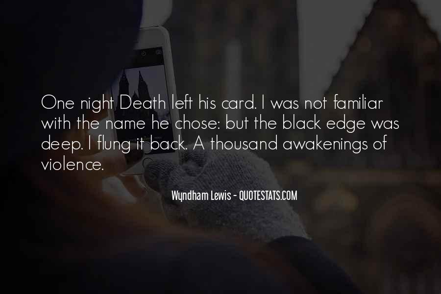 Quotes About Violence In Night #1695432