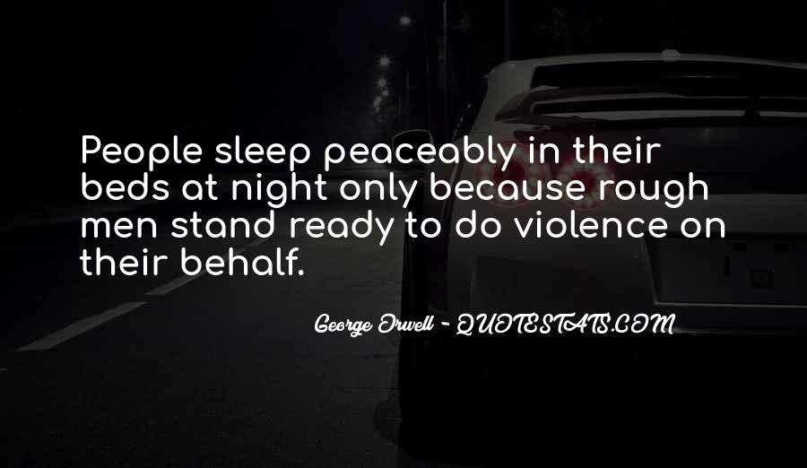 Quotes About Violence In Night #426994