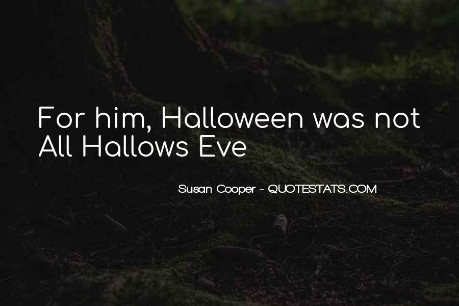 Halloween Eve Sayings #1101326