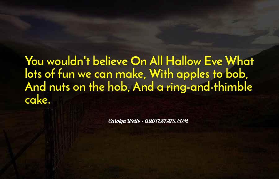 Halloween Eve Sayings #459201