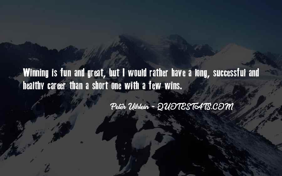 Short Winning Sayings #10652