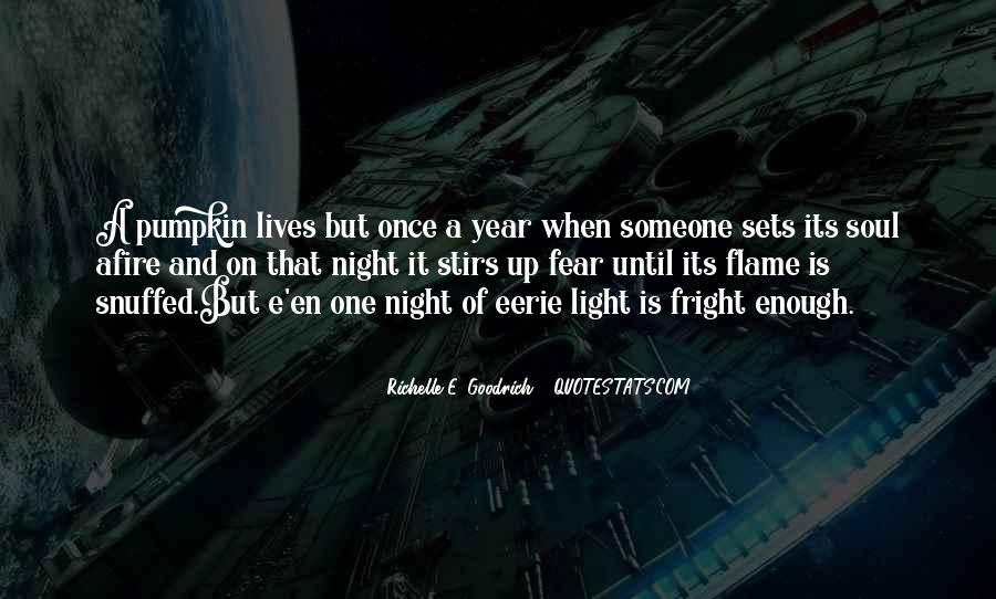 Eerie Quotes Sayings #315505