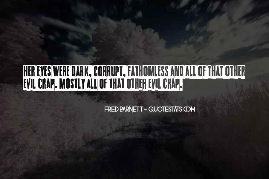 Dark Evil Sayings #126892