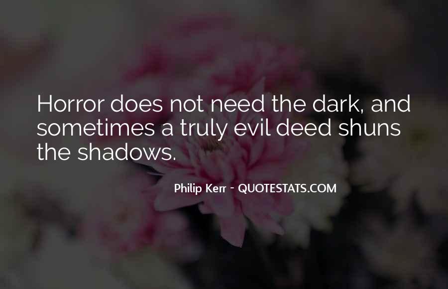 Dark Evil Sayings #356412
