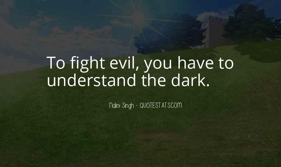 Dark Evil Sayings #369868
