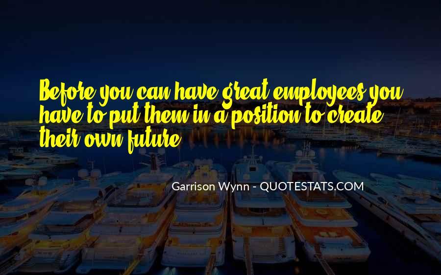 Great Employee Sayings #349677