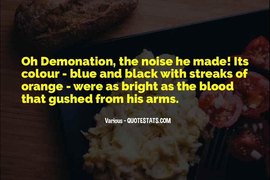 Blood Orange Sayings #1160984