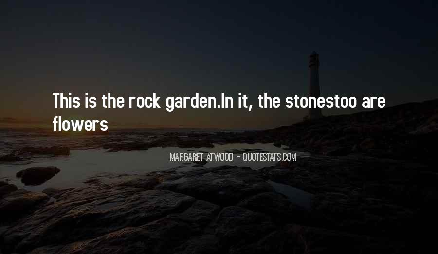Garden Rock Sayings #1039921