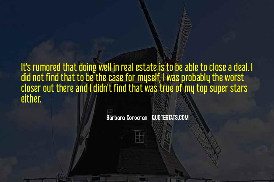 Top Real Estate Sayings #1529193