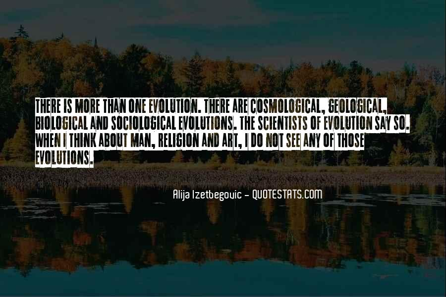 Quotes About Evolution And Religion #1075380