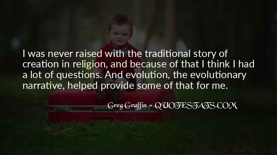 Quotes About Evolution And Religion #1079034