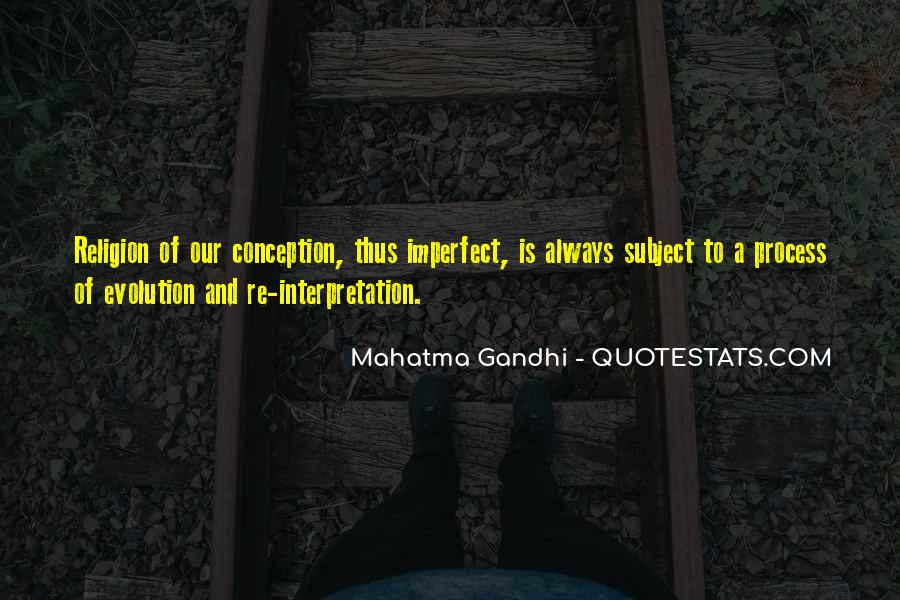 Quotes About Evolution And Religion #1128883
