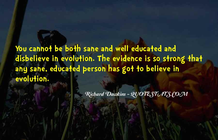 Quotes About Evolution And Religion #1134547