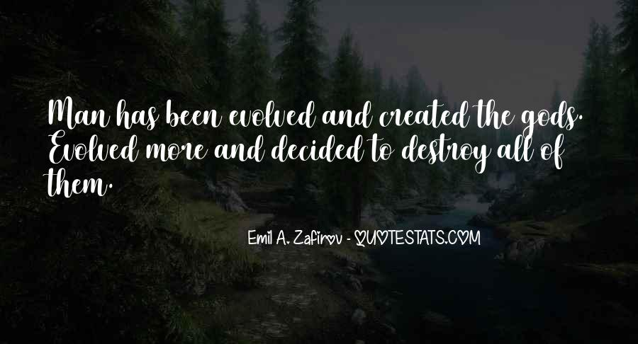 Quotes About Evolution And Religion #1456914