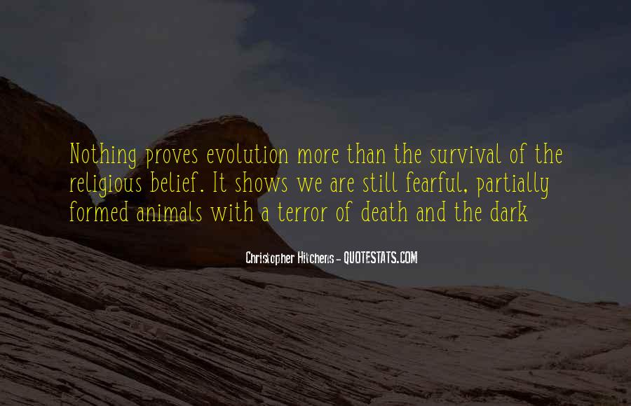 Quotes About Evolution And Religion #1522183