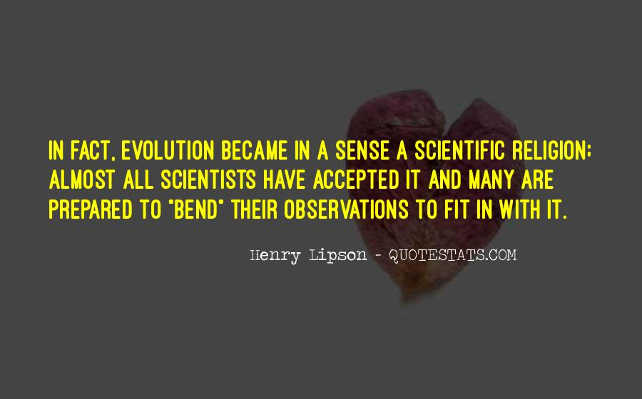 Quotes About Evolution And Religion #1588493