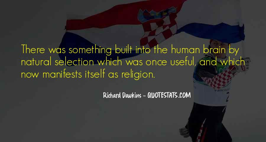 Quotes About Evolution And Religion #1801375