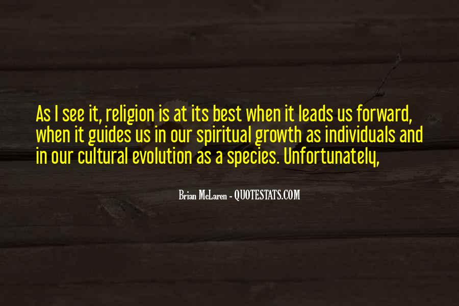 Quotes About Evolution And Religion #269325