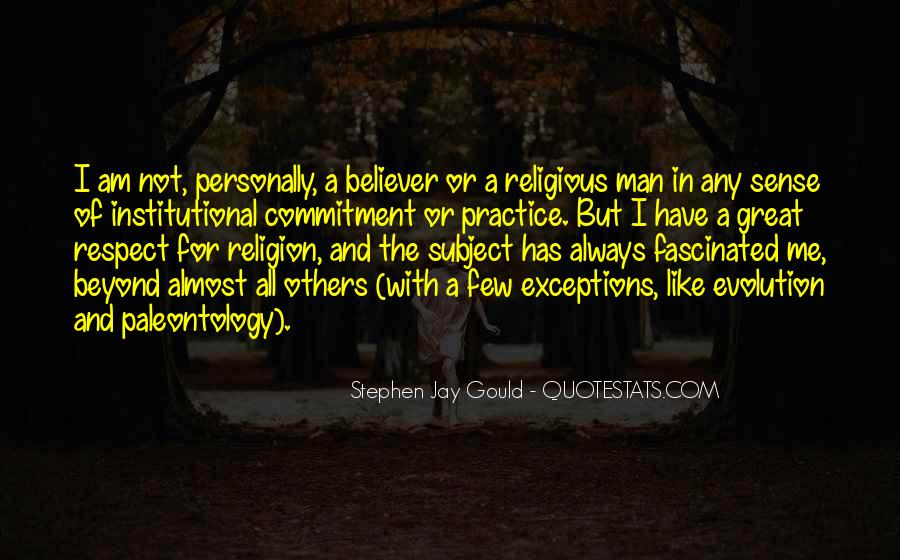 Quotes About Evolution And Religion #387917