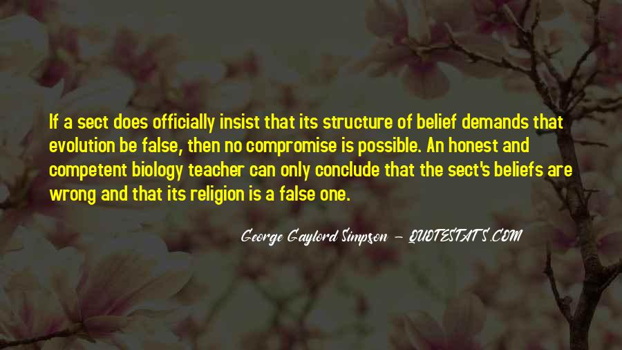 Quotes About Evolution And Religion #49153