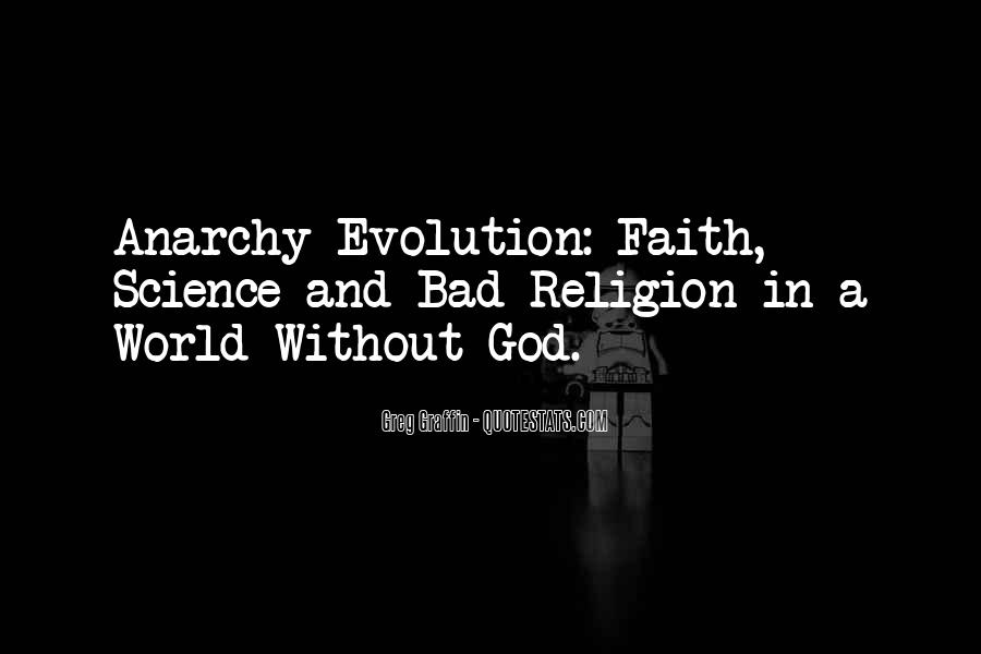 Quotes About Evolution And Religion #702560