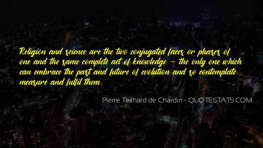 Quotes About Evolution And Religion #736031