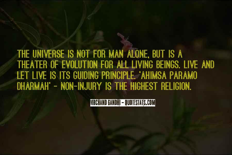 Quotes About Evolution And Religion #953589