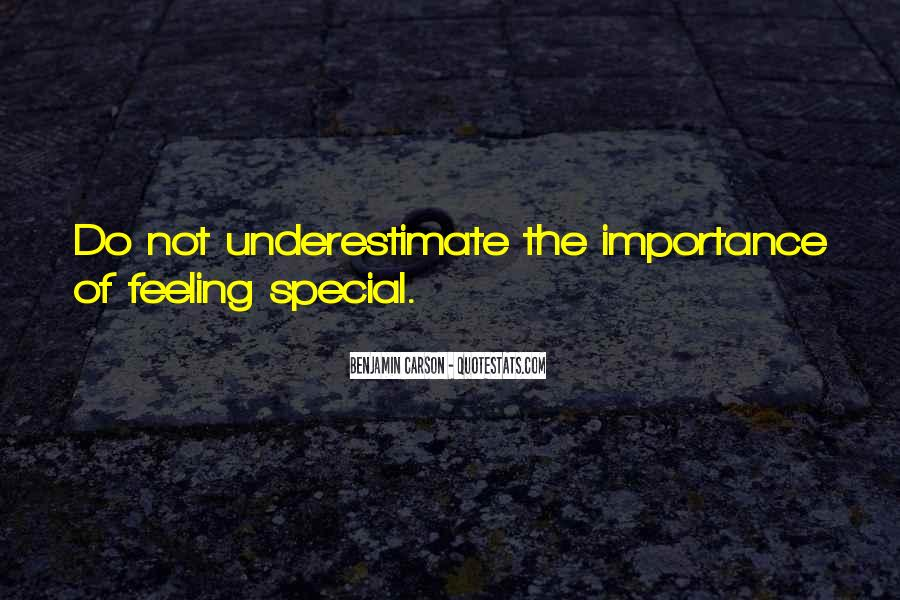 Special Feeling Sayings #1598041