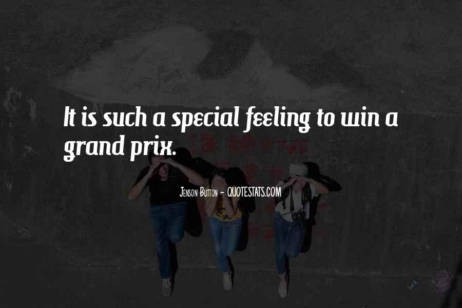Special Feeling Sayings #1687102