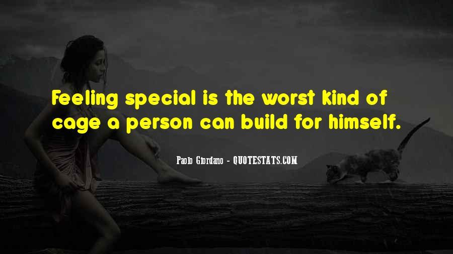 Special Feeling Sayings #331549
