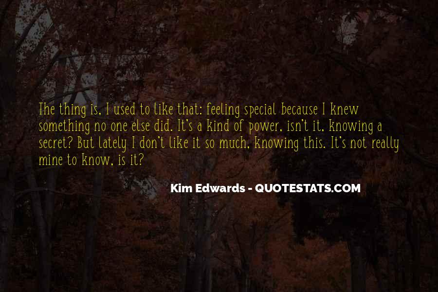 Special Feeling Sayings #542857