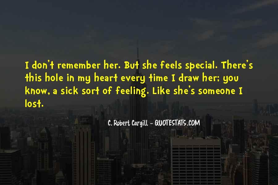 Special Feeling Sayings #574669