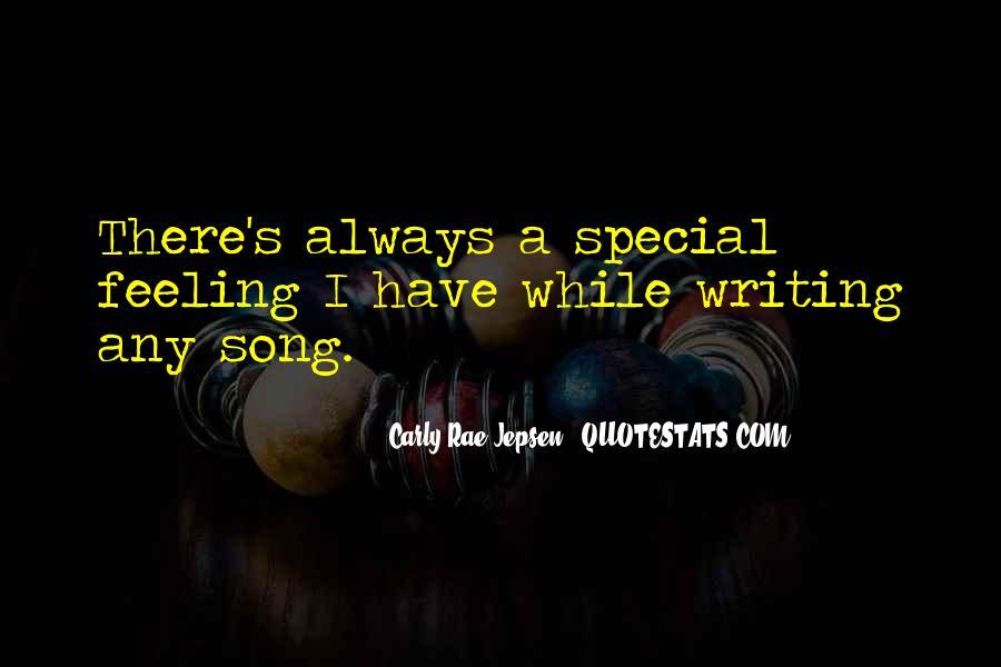 Special Feeling Sayings #909979