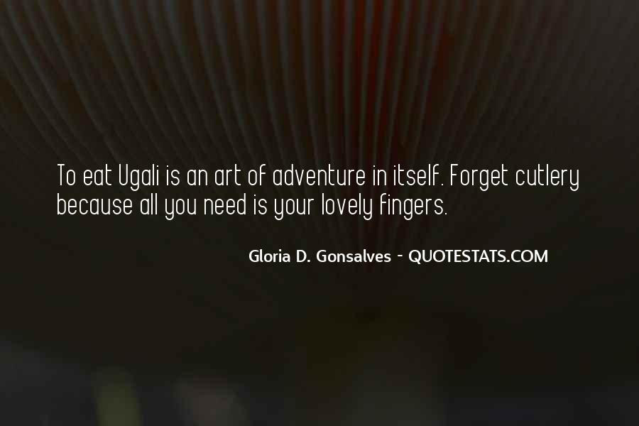 Fingers Quotes And Sayings #1007210