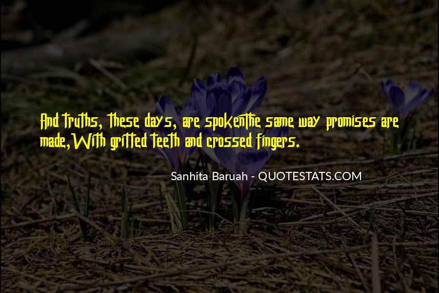 Fingers Quotes And Sayings #1873805
