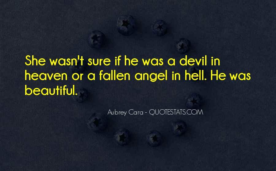 Fallen Angel Sayings #1045011