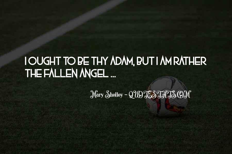 Fallen Angel Sayings #1059490
