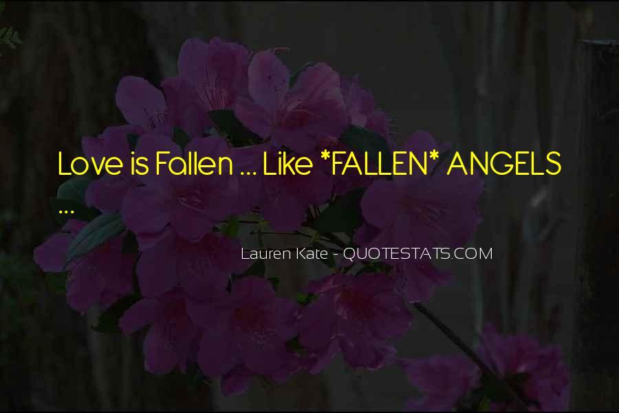 Fallen Angel Sayings #1262345