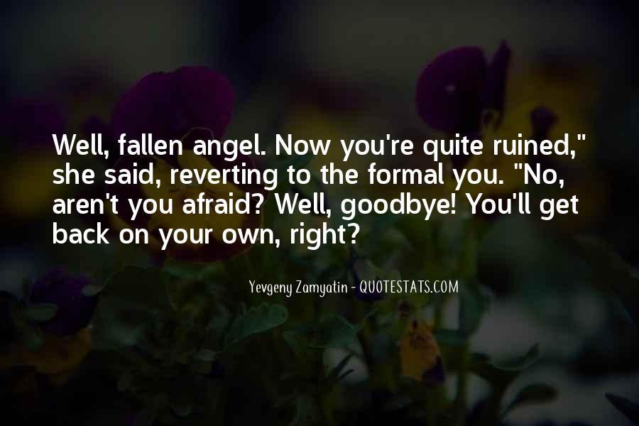 Fallen Angel Sayings #1319812